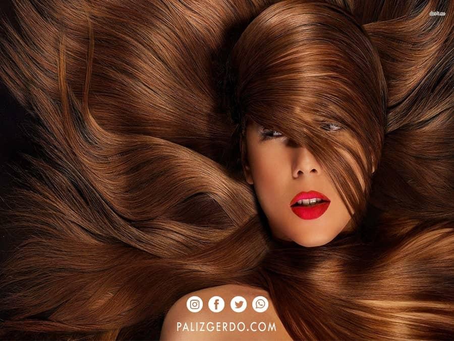 برگ گردو موها تقویت میکند